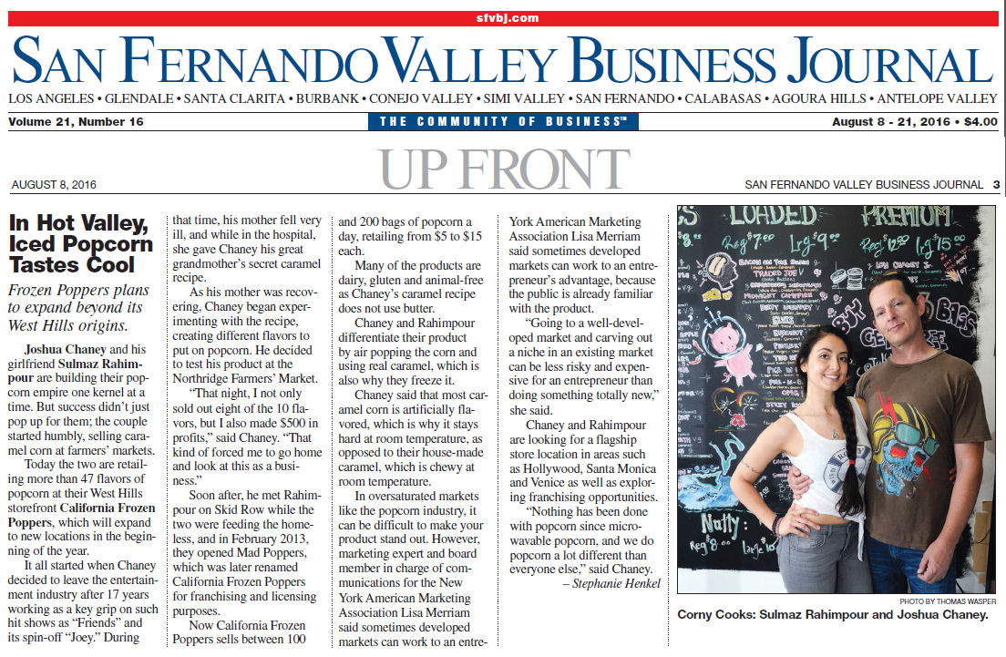 San Fernando Business Journal Niche Market